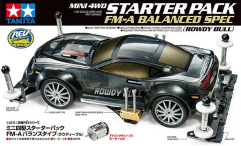 18710 STARTER PACK ROWDY BULL FM-A MINI4WD