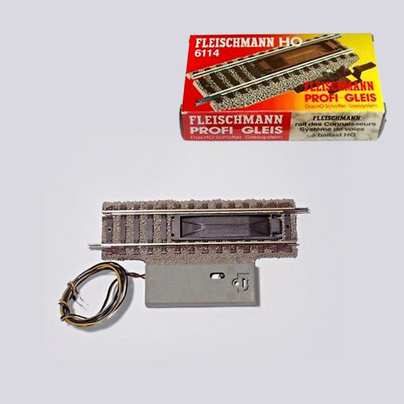 FLEISCHMANN 6112 H0 BINARIO SGANCIA VAGONI ELETTRICO