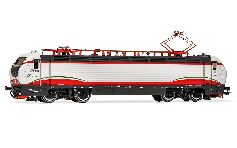 RIVAROSSI HR2805D - FS locomotiva elettrica E 402B 165 livrea ''Frecciabianca'' ep.VI - DCC